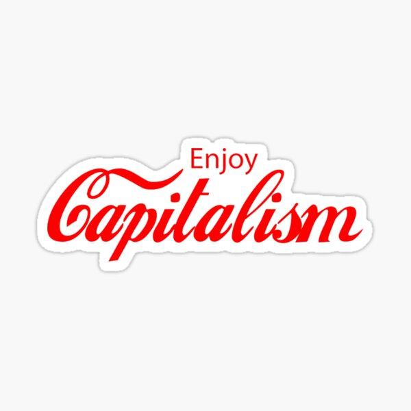 capitalism Sticker