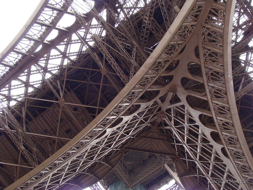 Sky Architecture In Paris II by Carolyn Perrick