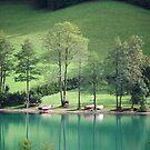 Lake at Salzburg by longaray2
