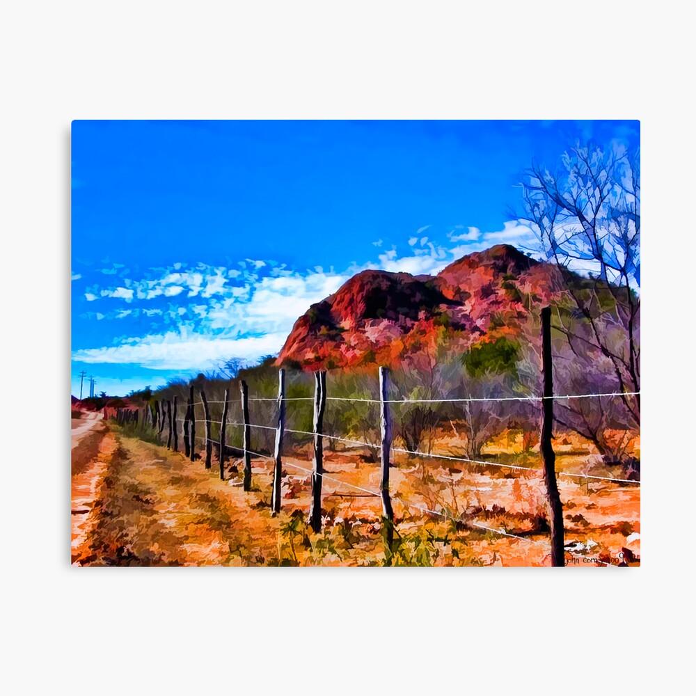 Desertscape #4 Leinwanddruck