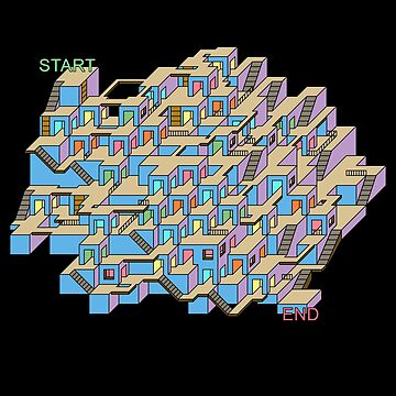 3D Cube Maze & Labyrinth by gorff