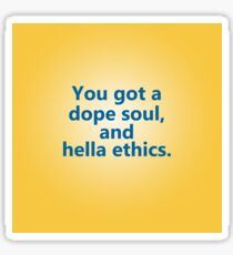 Hella Ethics Sticker