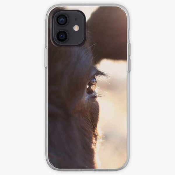 Cows have the most beautiful eyes iPhone Soft Case