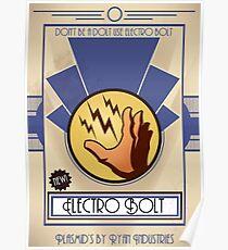 Electro Bolt - Bioshock Poster
