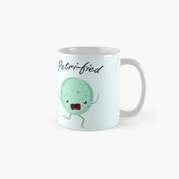 Petri-Fied - Funny Microbiology Biologist T Shirt for Men Women Kids Classic Mug