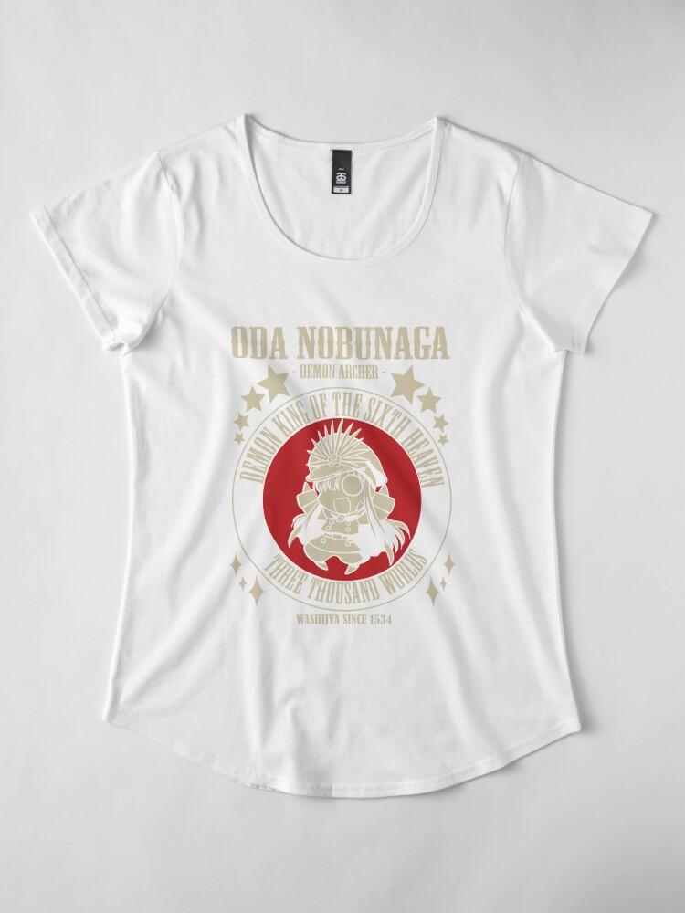 Alternative Ansicht von Oda Nobunaga - Dämon Archer Premium Rundhals-Shirt