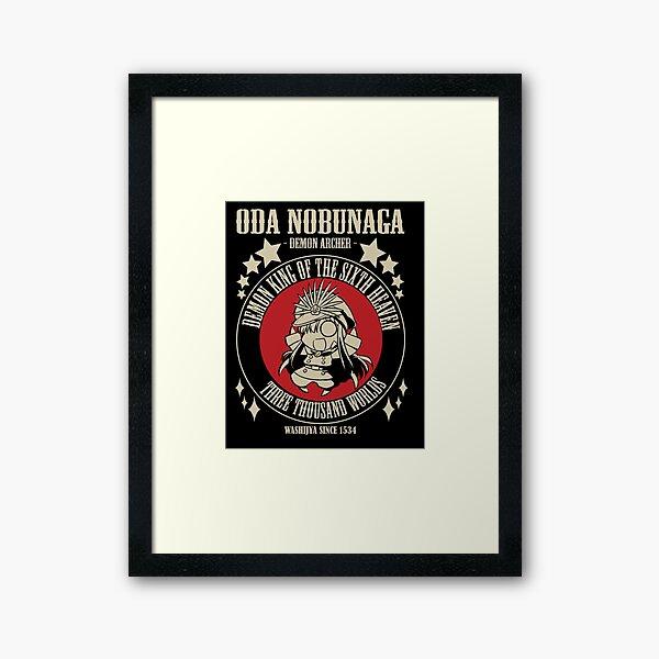 Oda Nobunaga - Demon Archer  Framed Art Print