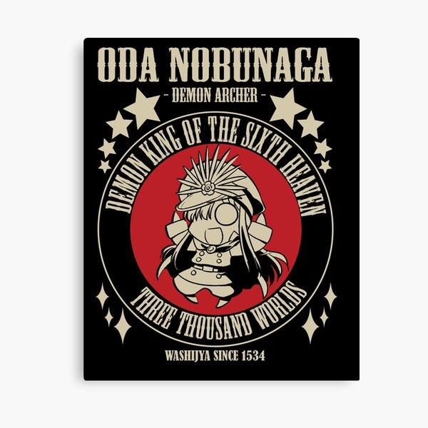 Oda Nobunaga - Demon Archer  Canvas Print