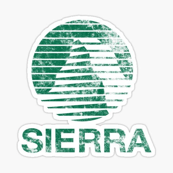 Sierra Faded Sticker