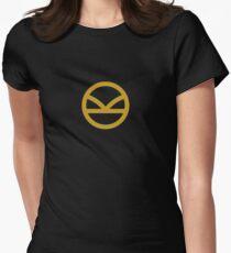 KINGSMAN · Golden Logo Womens Fitted T-Shirt