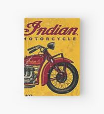 Indian motorcycle Hardcover Journal