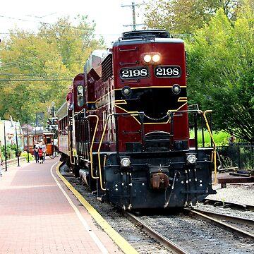Old Fashioned Railroad by croper