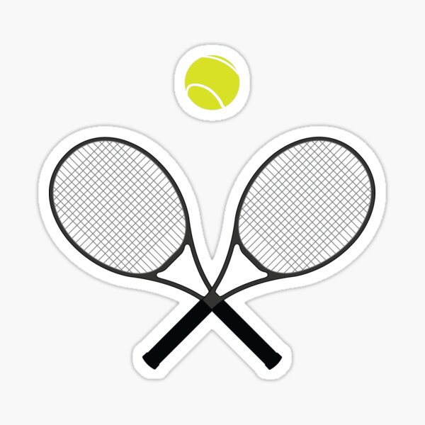 Tennis Pattern 2 Sticker