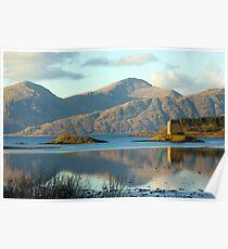 Castle Stalker, Highlands, Scotland Poster