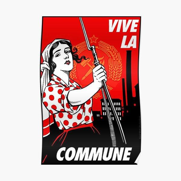 Vive la Commune! Poster