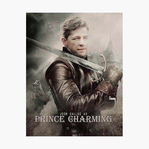 Movie Poster Style - Charming / Josh Photographic Print