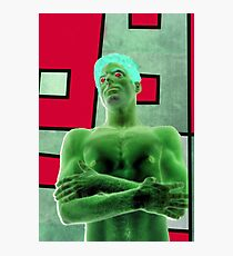 Riddler Photographic Print