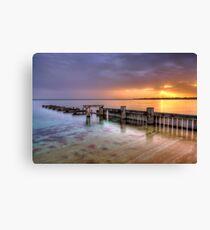 Mentone Sunset Canvas Print