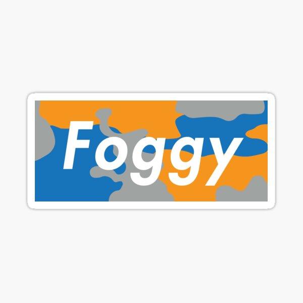 Foggy 2018 Sticker