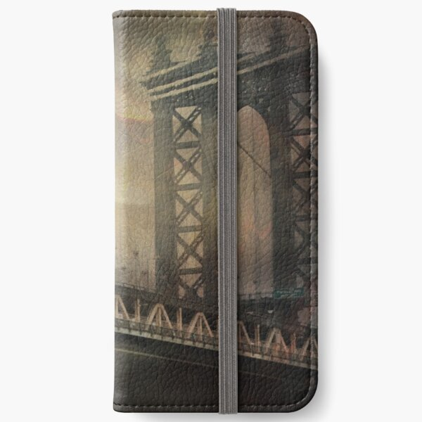 Brooklyn Bridge iPhone Wallet