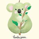 Koala-Birne von noondaydesign