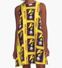 Brains Capitol Lightning A-Line Dress