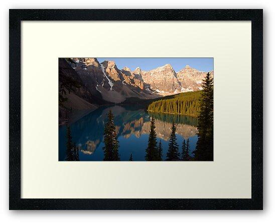 Moraine Lake - Banff National Park, Canada by Barbara Burkhardt