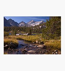 Little Lakes Valley, CA Photographic Print