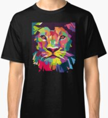 Lion Art Pop Classic T-Shirt