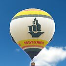 Mayflower Moving Company Hot Air Balloon by Brad Sumner