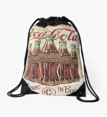 coca cola 1 Drawstring Bag