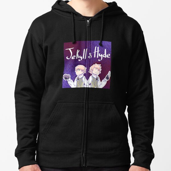 Jekyll and Hyde Fate Zipped Hoodie