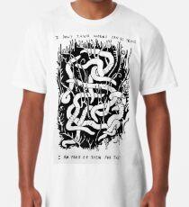 Camiseta larga FONDO DE GUSANOS