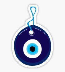 Turkish Blue Eye Bead Sticker