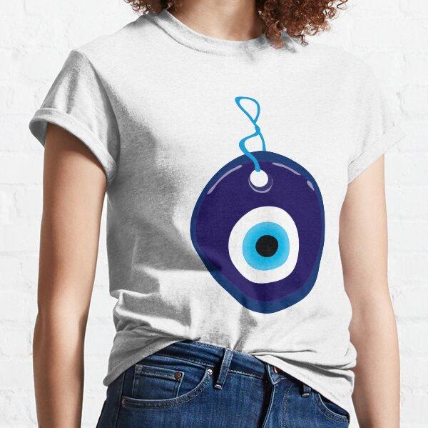 Blue Evil Eye Bead Classic T-Shirt