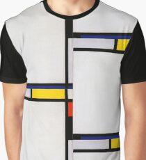 Piet Mondrian, Abstract Art, Famous European Graphic T-Shirt