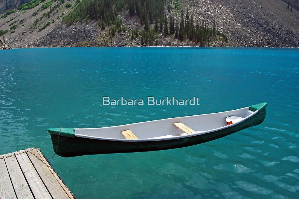 Magic on Moraine Lake  #6 Calendar Series   by Barbara Burkhardt