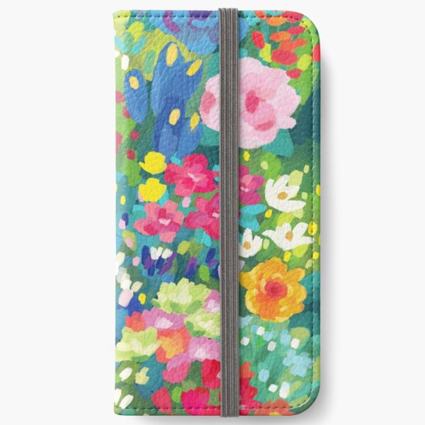 Florals...for Spring iPhone Wallet