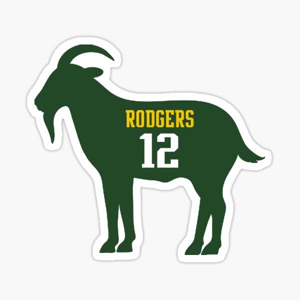 Aaron Rodgers - GOAT Sticker