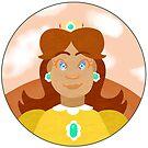 Princess Daisy by tonguetiedart