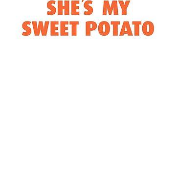 She's My Sweet Potato Shirt   Relationship Goals   Couple's Shirt   Thanksgiving Gift Matching TShirt   I Yam by goodfriendkyle