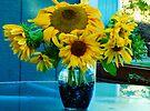 Autumn Sunflowers by Tori Snow