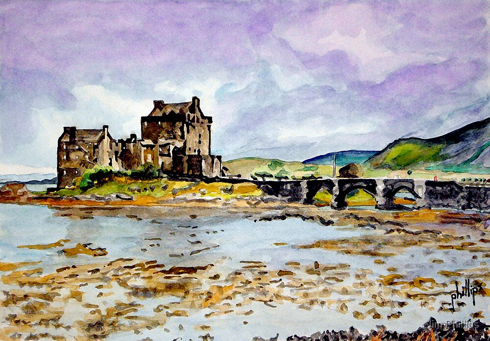 Home of Clan Macrae by Jim Phillips