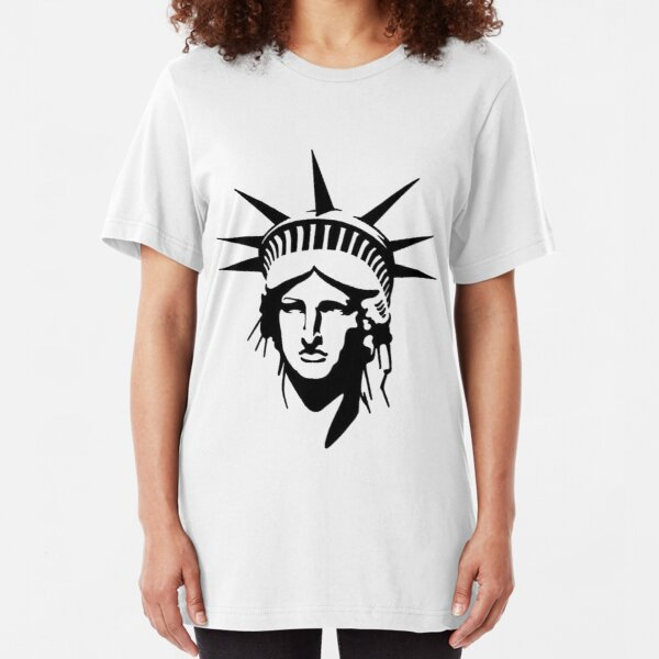 Liberty and Justice for All Adult Dark T-Shirt