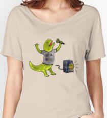 Karaoke Newt Women's Relaxed Fit T-Shirt