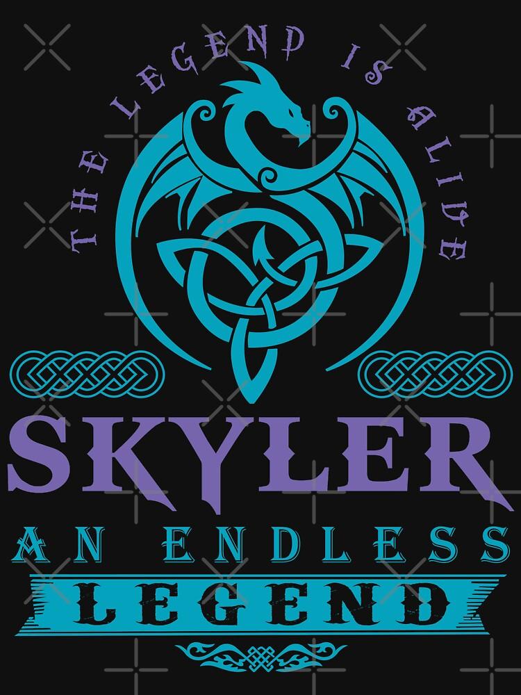 Legend T-shirt - Legend Shirt - Legend Tee - SKYLER An Endless Legend by wantneedlove