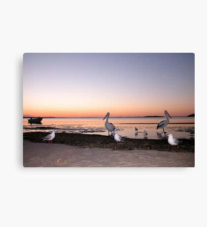 'At the end of the day' Canvas Print