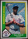427 - Terry McGriff by Foob's Baseball Cards