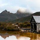 Dove Lake Boathouse by Jenna