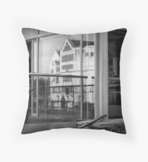 Faux history and  Real coffee Throw Pillow